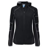 Columbia Ladies Sweet As Black Hooded Jacket-Select-A-Logo