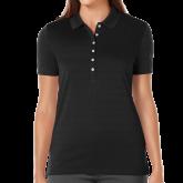 Ladies Callaway Opti Vent Black Polo-Select-A-Logo