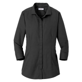 Ladies Red House Black 3/4 Sleeve Shirt-Select a Department