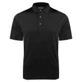 Black Dry Mesh Polo-Select A Logo