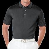 Callaway Black Jacquard Polo-Select-A-Logo