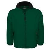Dark Green Survivor Jacket-Select-A-Logo