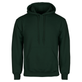 Dark Green Fleece Hood-Select-A-Logo