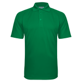 Kelly Green Textured Saddle Shoulder Polo-Select-A-Logo