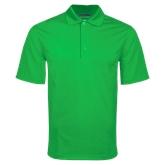 Kelly Green Mini Stripe Polo-Select-A-Logo