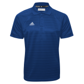 Adidas Climalite Royal Jacquard Select Polo-Select-A-Logo