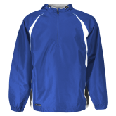 Holloway Hurricane Royal/White Pullover-Select-A-Logo
