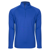 Sport Wick Stretch Royal 1/2 Zip Pullover-Select-A-Logo