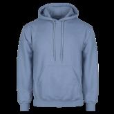 Light Blue Fleece Hoodie-Select-A-Logo
