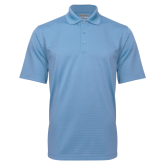 Light Blue Mini Stripe Polo-Select-A-Logo