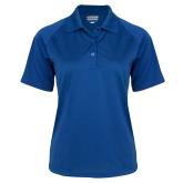 Ladies Royal Textured Saddle Shoulder Polo-Select-A-Logo