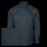 Red House Deep Blue Herringbone Long Sleeve Shirt-Select-A-Logo
