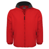 Red Survivor Jacket-Select-A-Logo