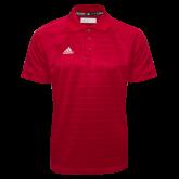 Adidas Climalite Red Jacquard Select Polo-Select-A-Logo