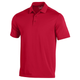 Under Armour Red Performance Polo-Select-A-Logo