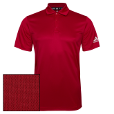 Adidas Climalite Red Grind Polo-Select-A-Logo