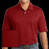 Nike Dri Fit Red Pebble Texture Sport Shirt-Select-A-Logo