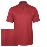 Red Performance Fine Jacquard Polo-Select-A-Logo