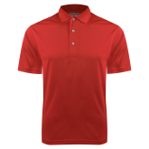 Red Dry Mesh Polo-Select A Logo