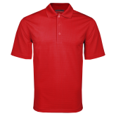 Red Mini Stripe Polo-Select-A-Logo