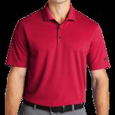 Nike Golf Dri Fit Red Micro Pique Polo-Select-A-Logo