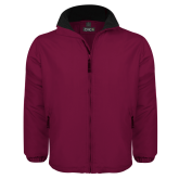 Maroon Survivor Jacket-Select-A-Logo