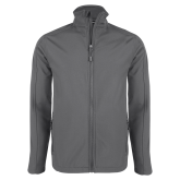 Charcoal Softshell Jacket-Select-A-Logo