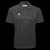 Adidas Climalite Charcoal Jacquard Select Polo-Select-A-Logo