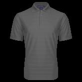 Charcoal Horizontal Textured Polo-Select-A-Logo