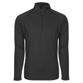 Sport Wick Stretch Charcoal 1/2 Zip Pullover-Select-A-Sport