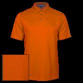 Orange Performance Fine Jacquard Polo-Select-A-Logo