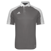 Adidas Modern Charcoal Varsity Polo-Select-A-Logo