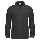 Columbia Full Zip Charcoal Fleece Jacket-Select-A-Logo