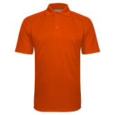 Orange Textured Saddle Shoulder Polo-Select-A-Logo