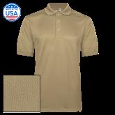 Vegas Gold Dry Mesh Polo-Select-A-Logo