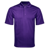 Purple Mini Stripe Polo-Select-A-Logo
