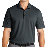 Nike Golf Dri Fit Charcoal Micro Pique Polo-Select-A-Logo