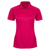 Maricopa Comm Ladies Pink Raspberry Dry Mesh Pro Polo-Select-A-Logo