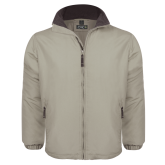 Khaki Survivor Jacket-Select-A-Logo