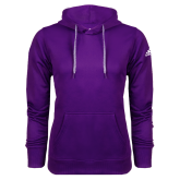 Adidas Climawarm Purple Team Issue Hoodie-Select-A-Logo