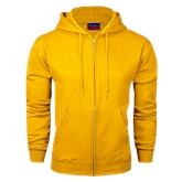 Champion Gold Fleece Full Zip Hood-Select-A-Logo