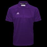 Adidas Climalite Purple Jacquard Select Polo-Select-A-Logo