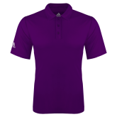 Adidas Climalite Purple Game Time Polo-Select-A-Logo