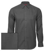 Red House Dark Charcoal Diamond Dobby Long Sleeve Shirt-Select a Department