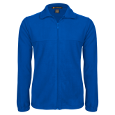 Fleece Full Zip Royal Jacket-Select-A-Logo