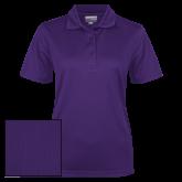 Ladies Purple Dry Mesh Polo-Select-A-Logo