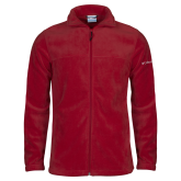 Columbia Full Zip Cardinal Fleece Jacket-Select-A-Logo