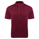 Maroon Dry Mesh Polo-Select A Logo Sports