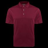 Maroon Dry Mesh Polo-Select-A-Logo