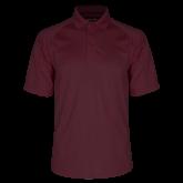 Maroon Dri Mesh Pro Polo-Select-A-Logo